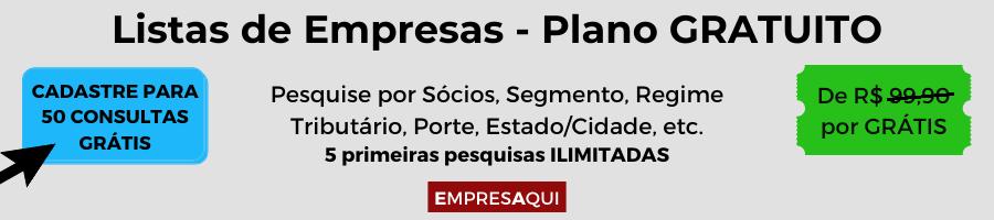 Listas de Empresas - Plano Gratuito